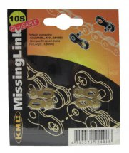 KMC Missing Link gold 10-fach Shimano/SRAM (2 Sets)
