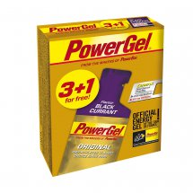 Powerbar Multipack PowerGel 3 + 1 Black Currant (mit...