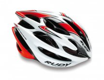 Rudy Project Sterling White - Red Fluo (Shiny)