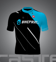 bikepirat.at Teamwear Trikot Pirate-Black kurzarm