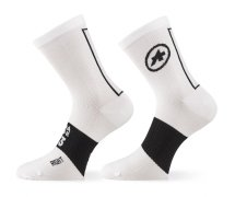 ASSOS ASSOSOIRES Summer Socks Holy White