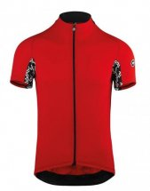 ASSOS MILLE GT Short Sleeve Jersey National Red