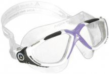 Aqua Sphere Vista Lady weiss-grau-lavendel / transparent