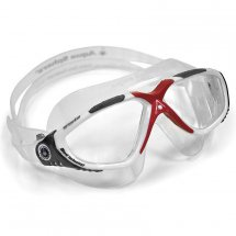 Aqua Sphere Vista weiss-grau-rot / transparent