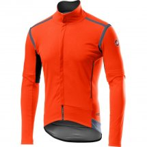 CASTELLI Perfetto RoS Convertibile Jacket orange