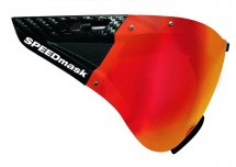 Casco SPEEDmask Carbonic rot Multilayer