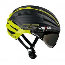 Casco Speed Airo RS schwarz-neon inkl. Visier Vautron
