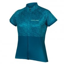 ENDURA Frauen Hummvee Ray SS Jersey LTD eisvogel