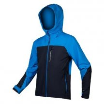 ENDURA Single Track Jacket Marine Blau