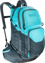 EVOC Explorer PRO, 30L, heather slate/heather neon blue