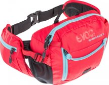 EVOC Hip Pack Race 3L + 1,5L Trinkblase, red/neon blue