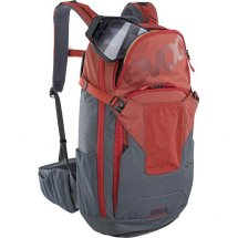 EVOC FR Neo, 16L, chili red - carbon grey, S/M