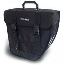 Basil Einzelpacktasche Tour-Single LINKS schwarz,...