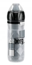 Elite Thermaltrinkflasche Iceberg 500ml, Logo grau
