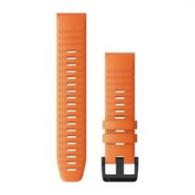 GARMIN Quickfit-Silikon-Armband 22mm orange, Fenix 6/6 Pro
