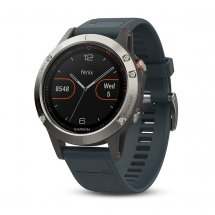 Garmin Fenix 5 Silber, Granite Blue Band