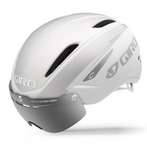 Giro AIR ATTACK SHIELD matt weiss/silber