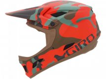 Giro CIPHER matt glowing red cam L (60-62cm)