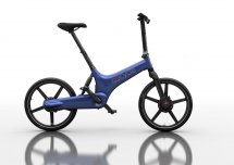 Gocycle G3 Faltrad blau