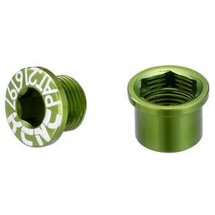 KCNC Chainring bolts MTB, green, SPB0014