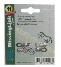 KMC Missing Link 11-fach 1/2x11/128 CL-550, silber (2 Sets)