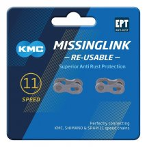 KMC Missing Link 11R EPT Silber (2 Sets)