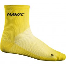 Mavic Cosmic Mid Sock yellow mavic