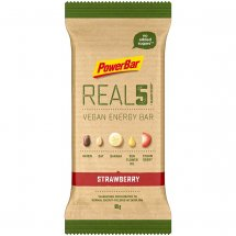 POWERBAR REAL 5 Vegan Energy Bar Erdbeere