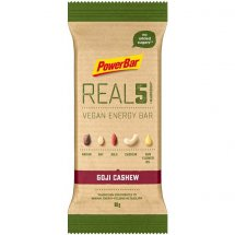 POWERBAR REAL 5 Vegan Energy Bar Goji Cashew
