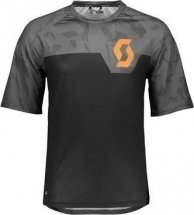 SCOTT Shirt Trail 20 s/sl schwarz/drunkel grau