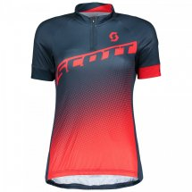 SCOTT Shirt Womans Endurance 40 s/sl blau/rot