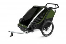 THULE Chariot Cab 2 Cypress Green 2021