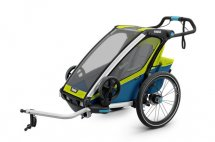 THULE Chariot Sport 1 chartreuse/mykonos, Modell inkl. Licht