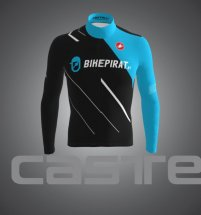 bikepirat.at Teamwear Thermal Trikot Pirate-Black langarm