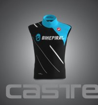 bikepirat.at Teamwear Windvest Pirate-Black