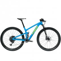 Trek Top Fuel 9.8 SL Waterloo Blue/Radioactive Yellow