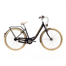 MERIDA City 7 Retro DELUXE schwarz (gold) 46 cm