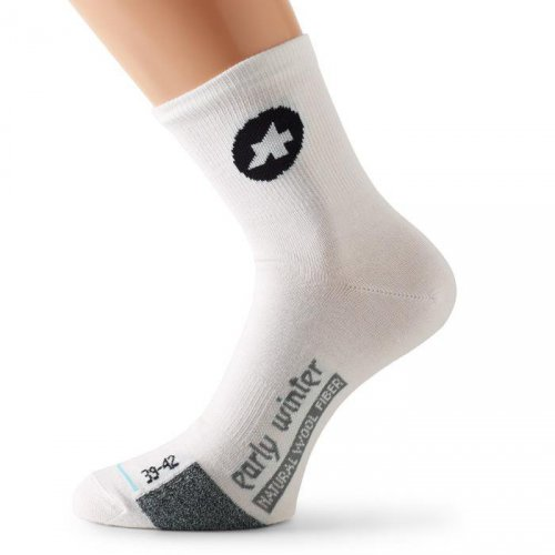 ASSOS earlyWinterSocks_S7 whitePanther Gr.0 (35-38)