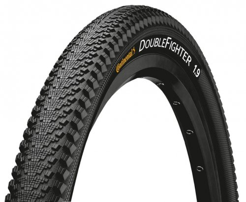 Continental Double Fighter III 24x2.0 50-507 schwarz
