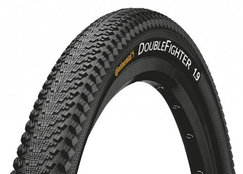 Continental Double Fighter III 29x2.0 50-622 schwarz