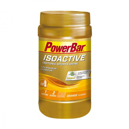 POWERBAR Isoactive - Isotonic Sports Drink - Orange 600g Dose