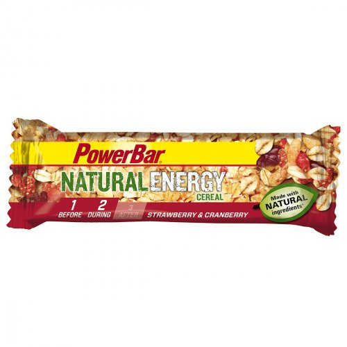 Powerbar Natural Energy Cereal Riegel Strawberry-Cranberry 40g