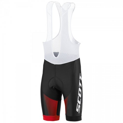 SCOTT Bibshorts RC Pro +++ blk/fiery rd