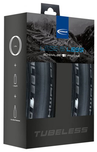 Schwalbe Set Pro One TL-Easy 700x25C fb