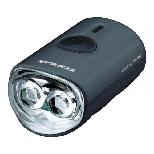 Topeak White Lite Mini USB, black